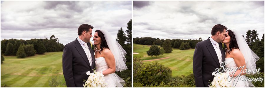 Intimate and creative wedding photography at Swindon Golf Club in Dudley by Staffordshire Wedding Photographer Barry James