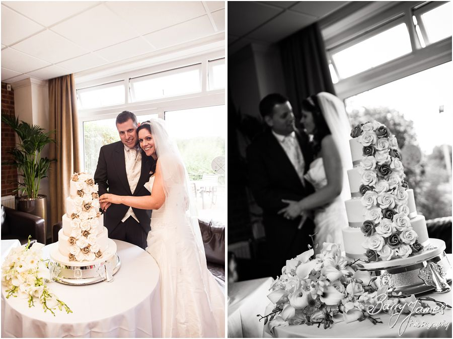 Creative timeless wedding photographs at Swindon Golf Club in Dudley by Staffordshire Wedding Photographer Barry James