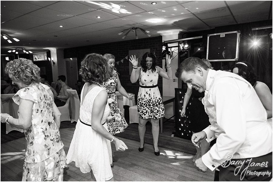 Relaxed creative wedding photographs at Swindon Golf Club in Dudley by Staffordshire Wedding Photographer Barry James