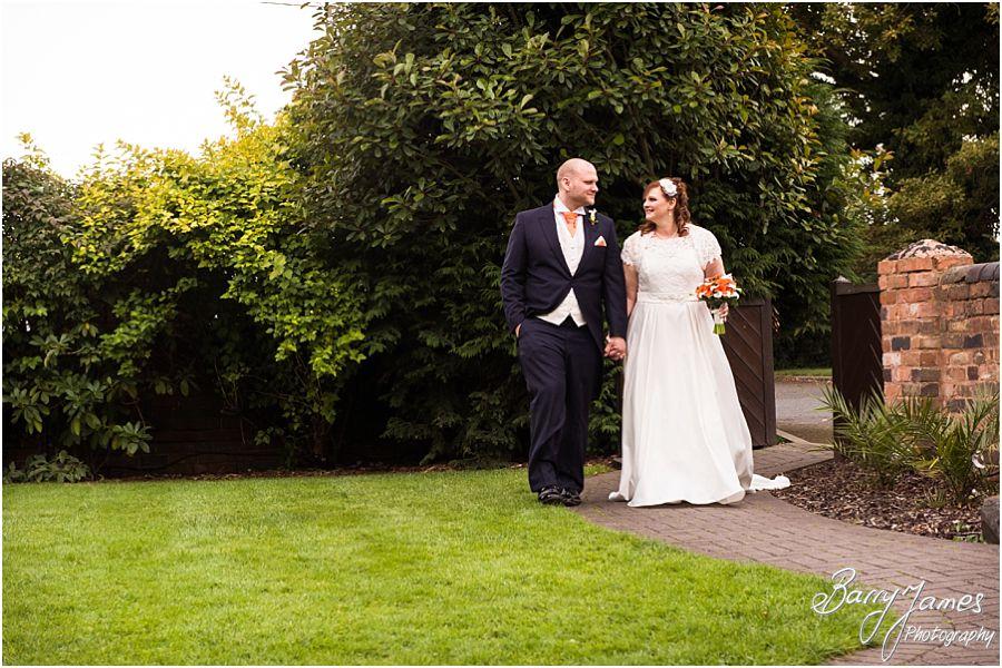 Creative reportage wedding photographs at Oak Farm in Cannock by Cannock Wedding Photographer Barry James