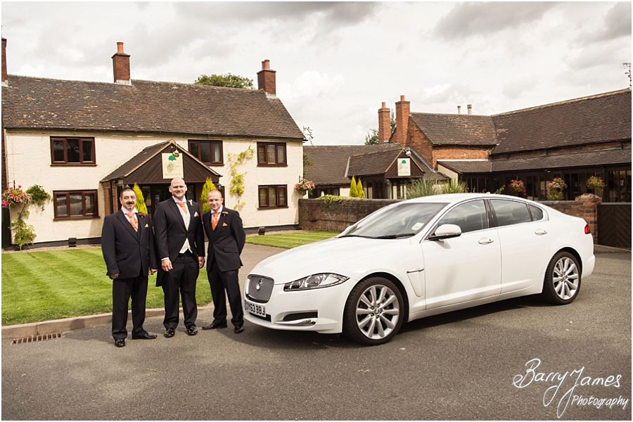 Contemporary and candid wedding photography at Oak Farm in Cannock by Venue Recommended Wedding Photographer Barry James