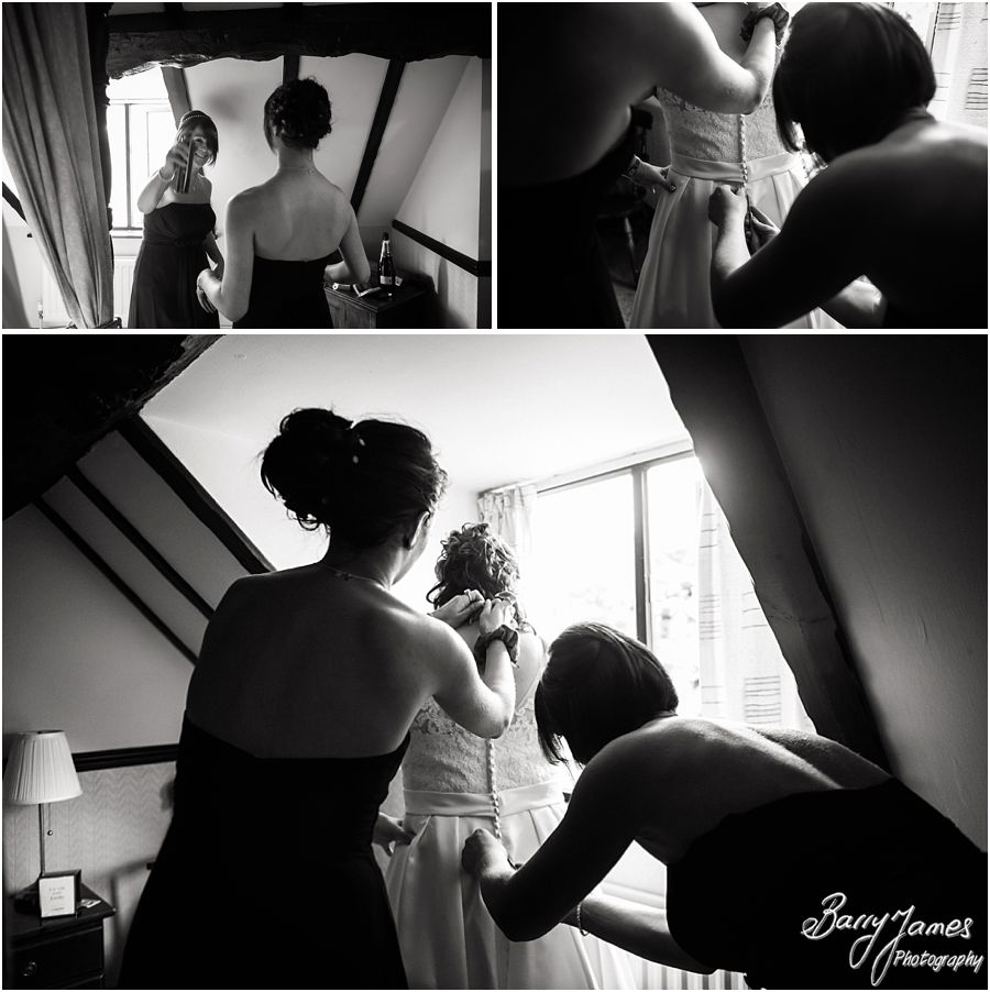 Storytelling wedding photographs at Oak Farm in Cannock by Cannock Wedding Photographer Barry James