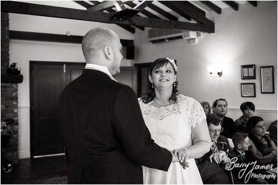 Creative wedding photography at Oak Farm in Cannock by Cannock Wedding Photographer Barry James
