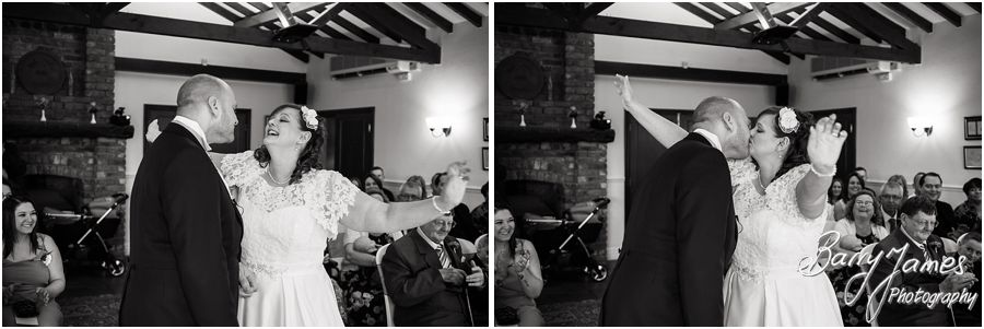 Affordable wedding photography at Oak Farm in Cannock by Venue Recommended Wedding Photographer Barry James