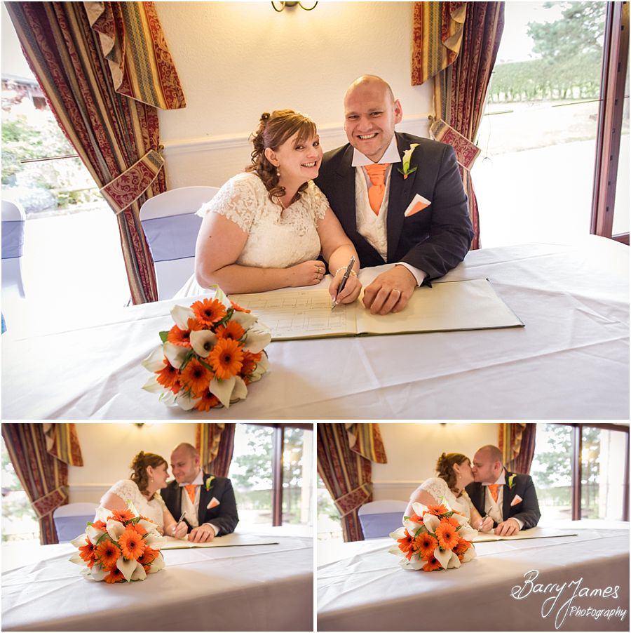 Contemporary relaxed wedding photography at Oak Farm in Cannock by Cannock Wedding Photographer Barry James