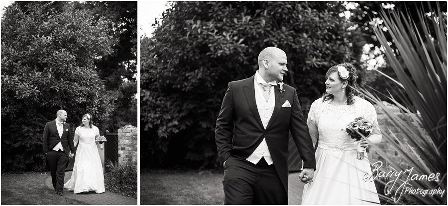 Professional wedding photographer at Oak Farm in Cannock by Cannock Wedding Photographer Barry James