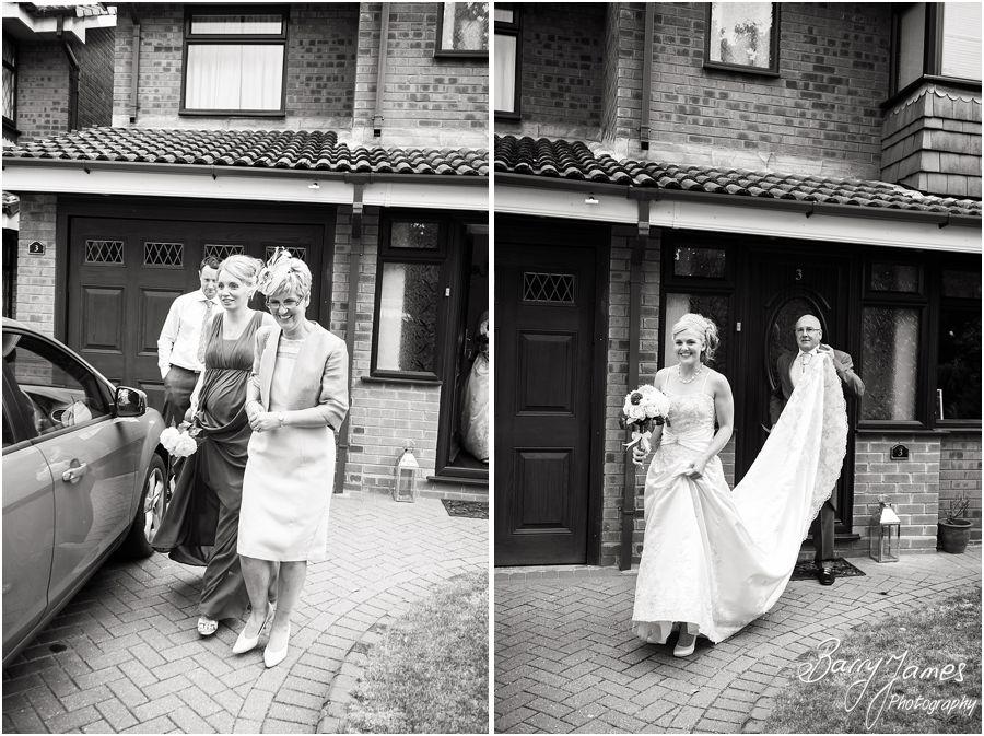 Creative contemporary wedding photographer at Rodbaston Hall in Penkridge by Penkridge Wedding Photographer Barry James