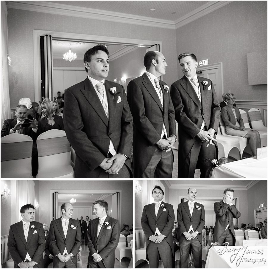 Storytelling candid and contemporary wedding photography at Rodbaston Hall in Penkridge by Penkridge Wedding Photographer Barry James