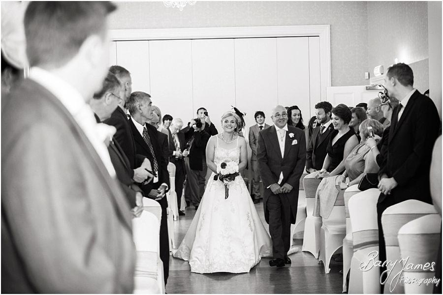 Creative wedding photographs at Rodbaston Hall in Penkridge by Penkridge Wedding Photographer Barry James