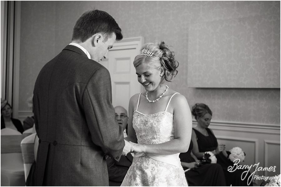 Candid unobtrusive wedding photography at Rodbaston Hall in Penkridge by Penkridge Wedding Photographer Barry James