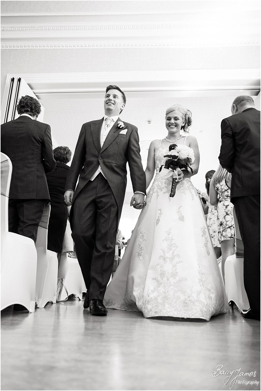 Capturing the wedding story in emotive, beautiful photos at Rodbaston Hall in Penkridge by Penkridge Wedding Photographer Barry James