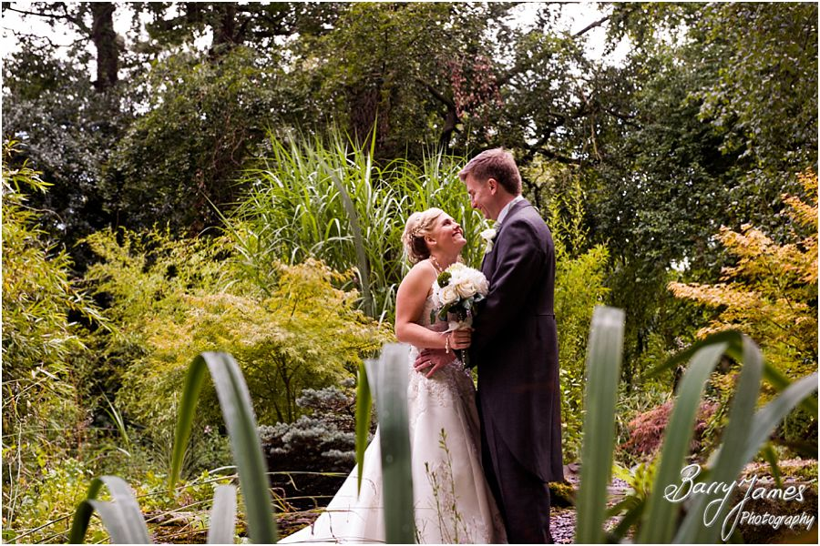 Recommended wedding photographer captures beautiful wedding photographs at Rodbaston Hall in Penkridge by Cannock Wedding Photographer Barry James