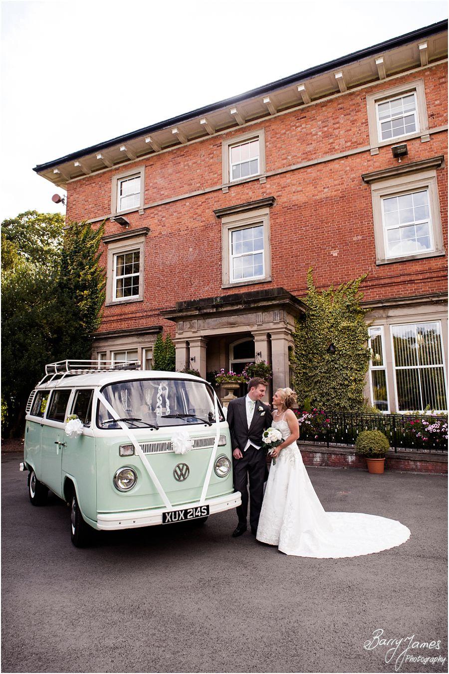 Beautiful summer wedding photos at Rodbaston Hall in Penkridge by Cannock Wedding Photographer Barry James