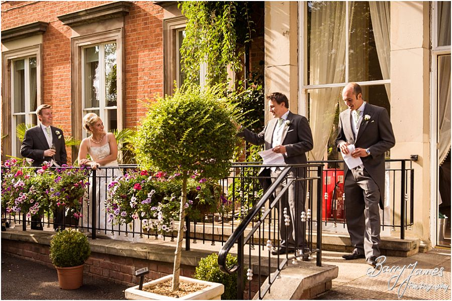 Timeless reportage photographs capture the beautiful wedding story at Rodbaston Hall in Penkridge by Cannock Wedding Photographer Barry James