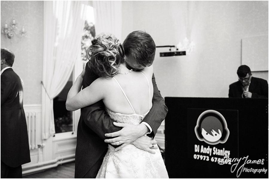 Creative reportage wedding photographs at Rodbaston Hall in Penkridge by Stafford Wedding Photographer Barry James