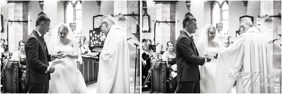 Timeless classical wedding photographs with a contemporary twist at St Chads Church in Lichfield by Award Winning Lichfield Wedding Photographer Barry James
