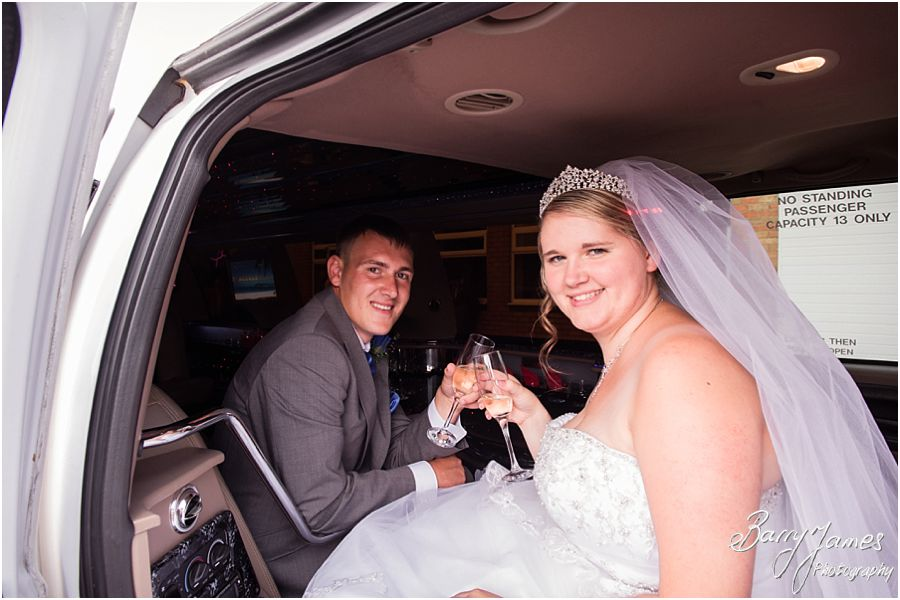 Creative and contemporary wedding photos at St Chads Church in Lichfield by Lichfield Wedding Photographer Barry James