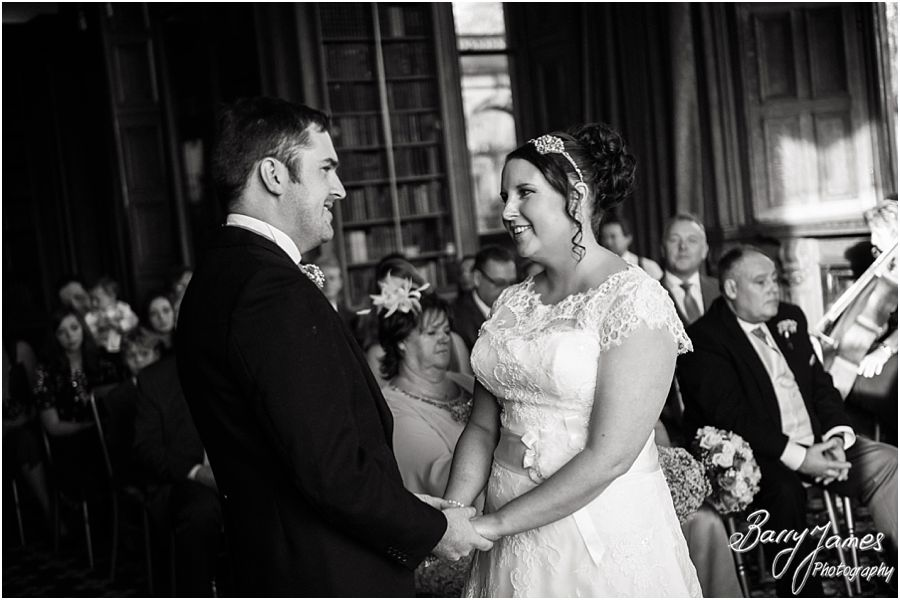 Creative wedding photos that tell the wedding story at Sandon Hall in Stafford by Stafford Reportage Wedding Photographer Barry James