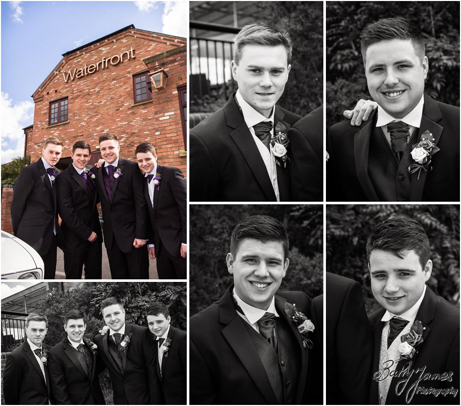 Gorgeous wedding photographs at The Waterfront in Barton Marina by Burton-on-Trent Award Winning Wedding Photographer Barry James