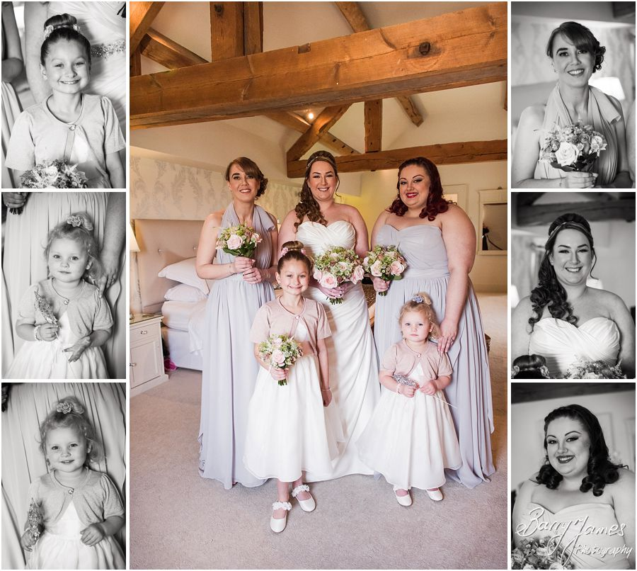 Relaxed portraits of bridal party at Alrewas Hayes in Burton upon Trent by Contemporary and Creative Wedding Photographer Barry James