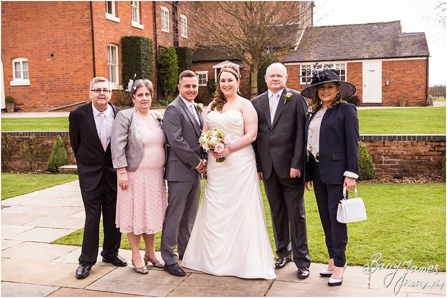 Natural contemporary portraits of the Bridal Party at Alrewas Hayes in Burton upon Trent by Contemporary and Creative Wedding Photographer Barry James
