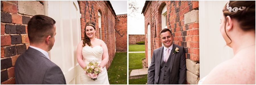 Timeless intimate portraits of the bride and groom at Alrewas Hayes in Burton upon Trent by Contemporary and Creative Wedding Photographer Barry James