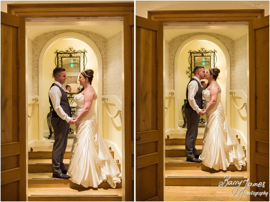 Creative evening portraits at Alrewas Hayes in Burton upon Trent by Contemporary and Candid Wedding Photographer Barry James