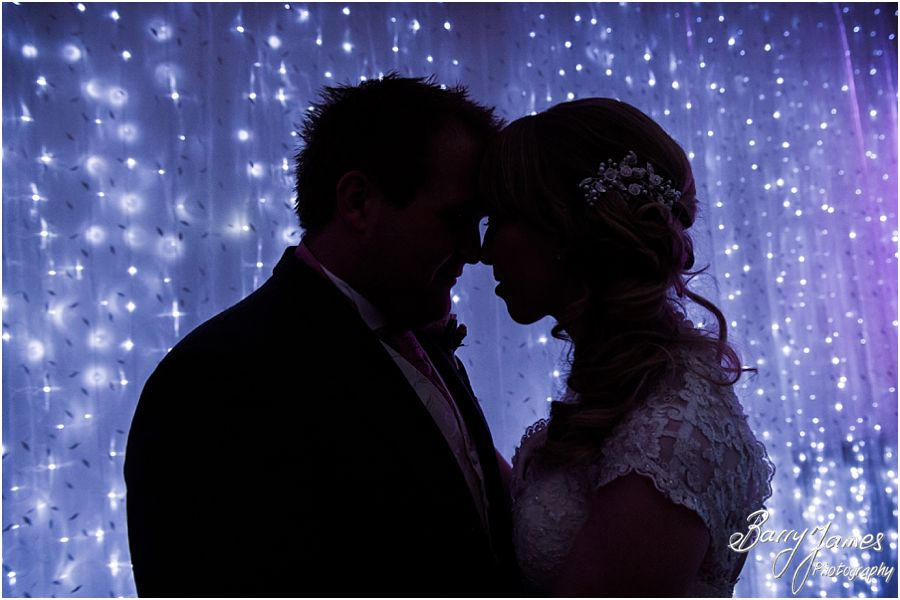 Fun first dance photographs at Hawkesyard Hall in Rugeley by ExperiencedWedding Photographer Barry James