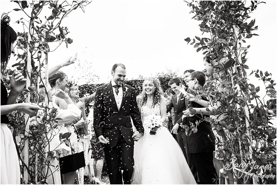 Gorgeous wedding photographs at Albright Hussey Manor in Shrewsbury by Wedding Photographer Barry James