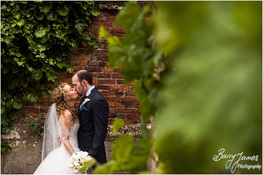 Creative modern wedding photographs at Albright Hussey Manor in Shrewsbury by Contemporary Wedding Photographer Barry James