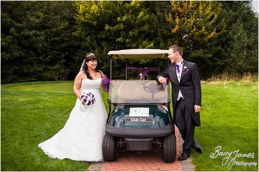 Relaxed wedding photos at The Chase in Cannock by Walsall Wedding Photographer Barry James