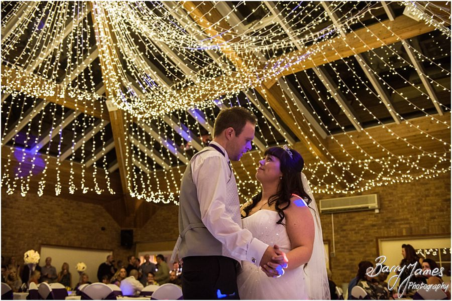 Beautiful photos of the first dance at The Chase in Cannock by Walsall Wedding Photographer Barry James