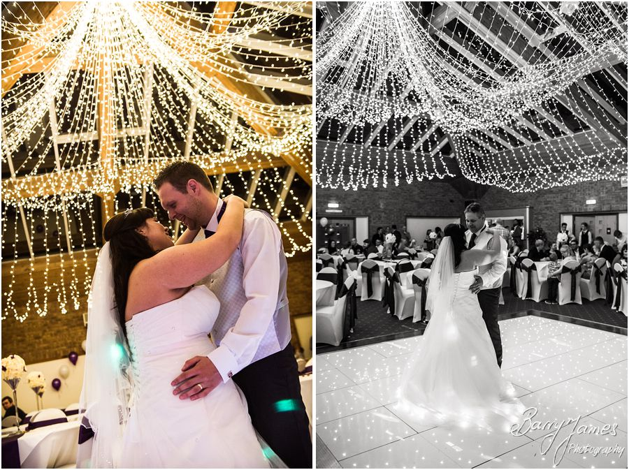 Creative evening photography at The Chase in Cannock by Walsall Wedding Photographer Barry James