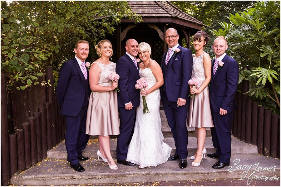 Relaxed family photographs at The Fairlawns in Walsall by Fairlawns Wedding Photographer Barry James