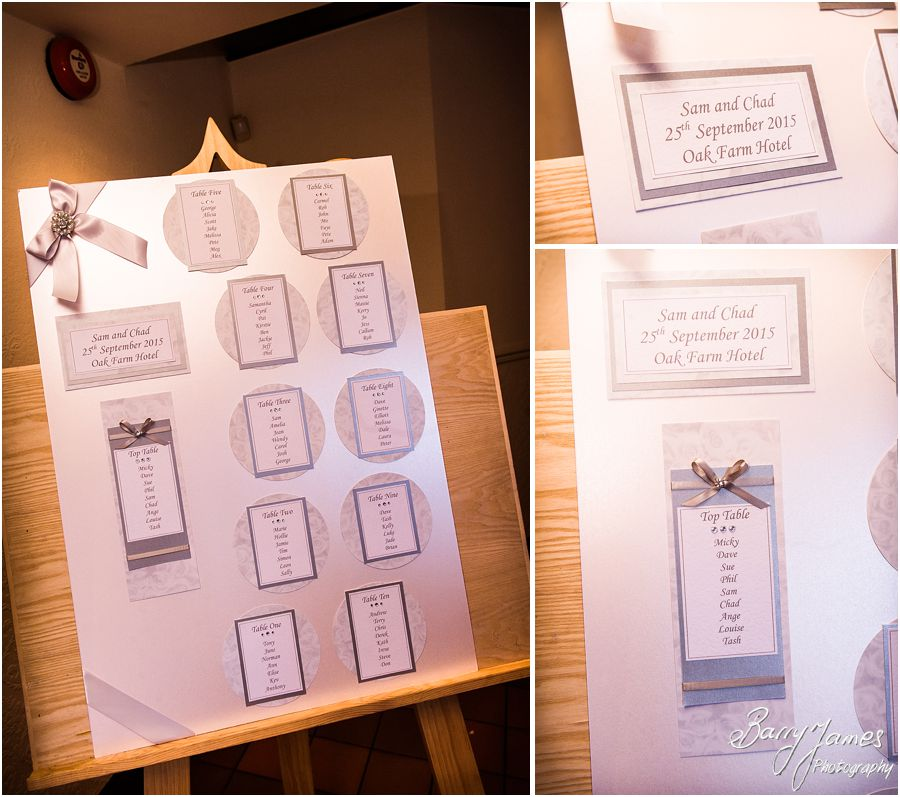 Stunning setting for your wedding - Oak Farm Hotel in Cannock by Cannock Wedding Photographer Barry James