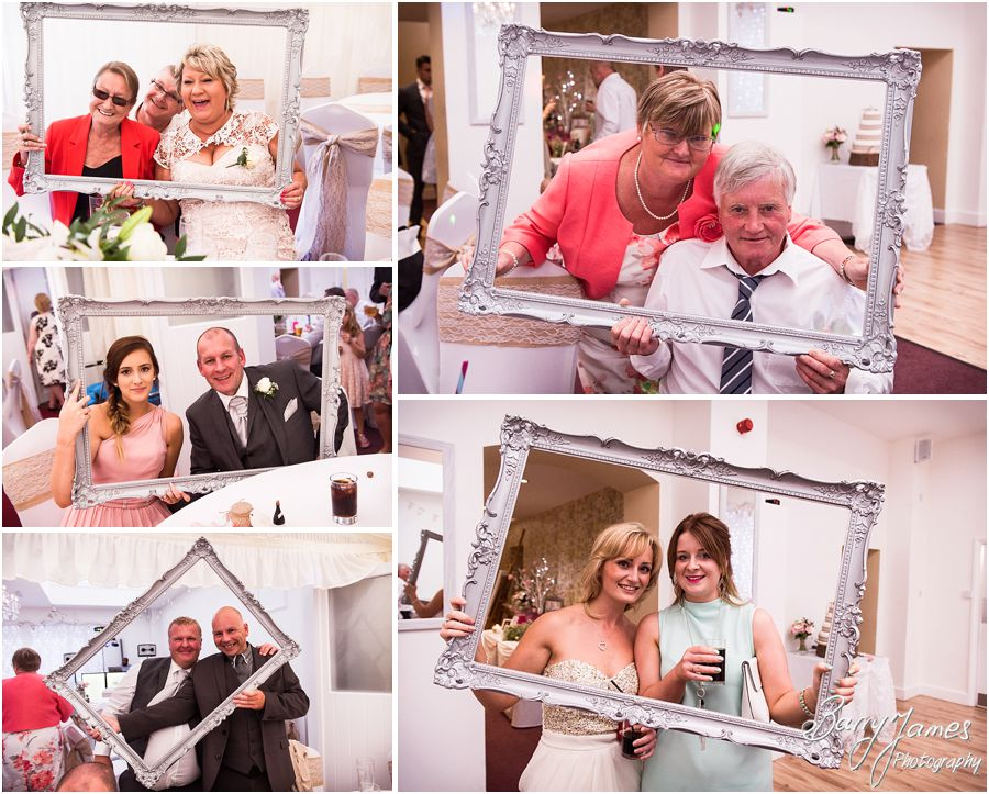 Capturing the guests candidly enjoying the evening reception at Hawkesyard Estate in Rugeley by Rugeley Wedding Photographer Barry James