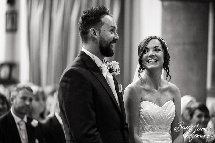 Coverage by two photographs to tell the complete wedding story at St Marys Church Hurst Hill in West Midlands by West Midlands Wedding Photographer Barry James