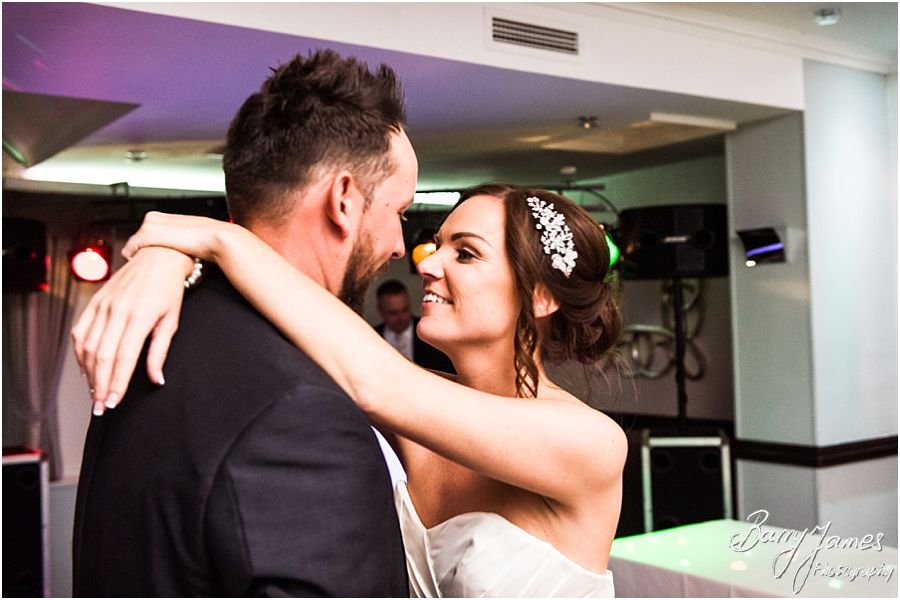 Creative and fun evening photographs at The Moat House in Acton Trussell by West Midlands Wedding Photographer Barry James