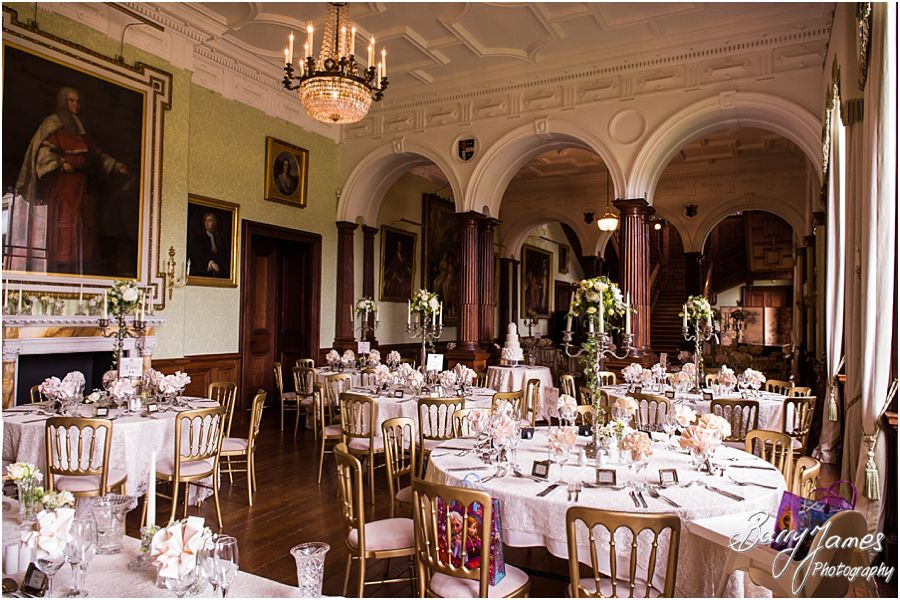 Stunning Personal Touches Make The Wedding Breakfast Decoration Unique At Sandon Hall In Staffordshire By Recommended