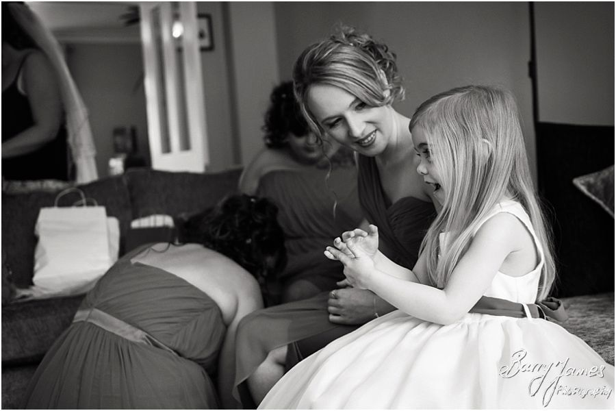 Natural storytelling photographs of the morning preparations of the bride at Parents Home in Barton under Needwood by Barton Under Needwood Wedding Photographer Barry James