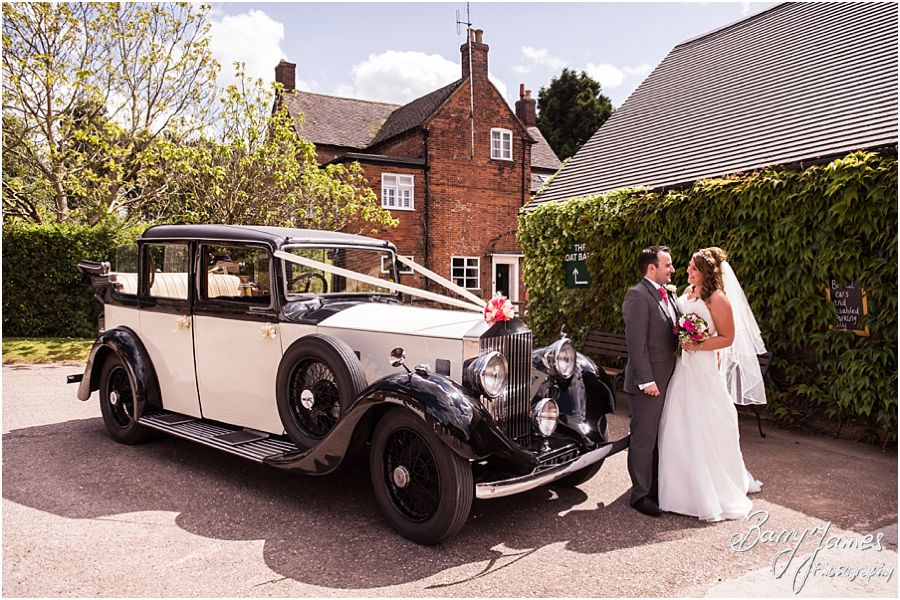 Contemporary creative photographs of the wedding at Packington Moor in Lichfield by Lichfield Wedding Photographer Barry James