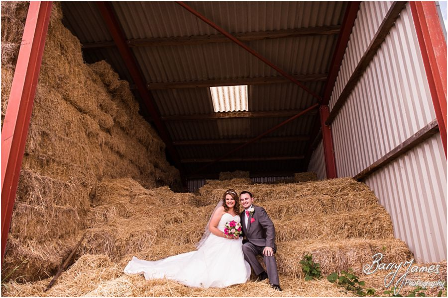 Creative contemporary photographs in the farm yard at Packington Moor in Lichfield by Lichfield Wedding Photographer Barry James