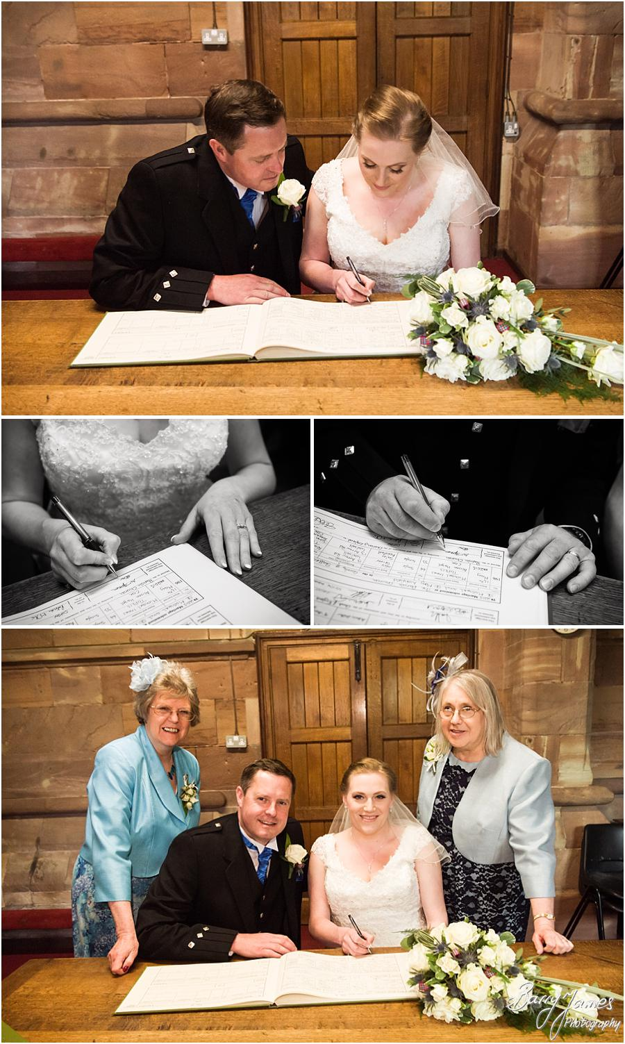 Gorgeous wedding photographs at Saint Michael Greenhill Church in Lichfield by Sutton Coldfield Wedding Photographer Barry James