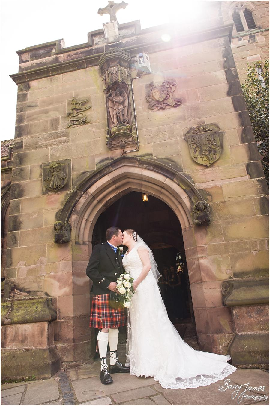 Storytelling photographs of the wonderful ceremony at Saint Michael Greenhill Church in Lichfield by Sutton Coldfield Wedding Photographer Barry James