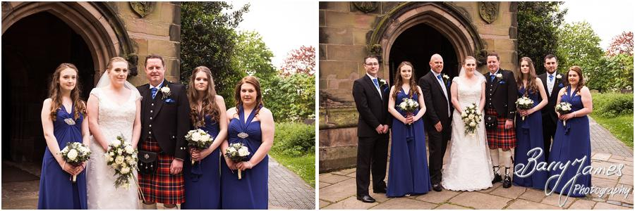 Contemporary storytelling photographs of the wedding at Saint Michael Greenhill Church in Lichfield by Sutton Coldfield Wedding Photographer Barry James