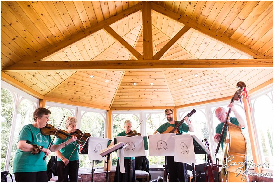 Live music for wedding at Moor Hall in Sutton Coldfield by Sutton Coldfield Wedding Photographer Barry James
