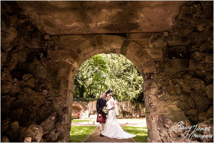 Creative Elegant Portraits In The Beautiful Sunken Gardens At Moor Hall Sutton Coldfield By