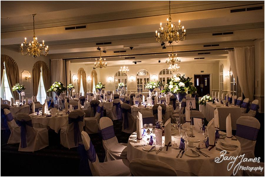 Beautiful Styling For The Wedding Breakfast At Moor Hall In Sutton Coldfield By