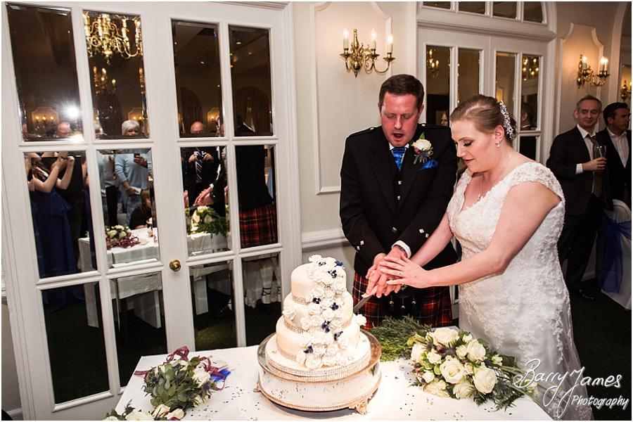 Stunning wedding cake for wedding at Moor Hall in Sutton Coldfield by Sutton Coldfield Wedding Photographer Barry James