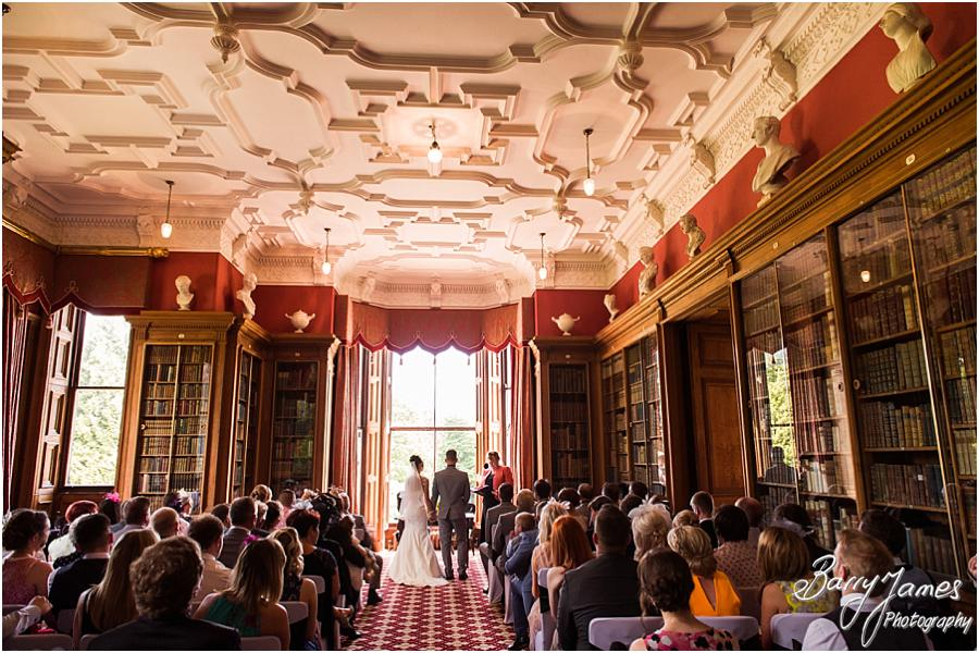 Contemporary wedding photography by two professional wedding photographers capturing the perfect coverage of the marriage at Sandon Hall in Stafford by Stafford Wedding Photographer Barry James